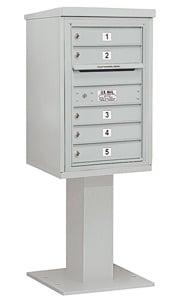 Salsbury 4C Pedestal 3407S-05 Gray