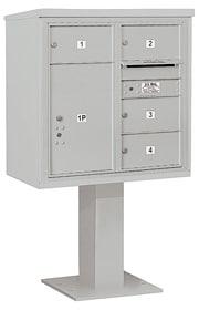 Salsbury 4C Pedestal 3408D-04 Gray