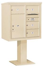 Salsbury 4C Pedestal 3408D-04 Sandstone