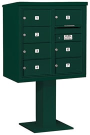 Salsbury 4C Pedestal 3408D-07 Green