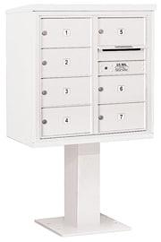 Salsbury 4C Pedestal 3408D-07 White