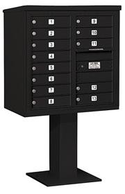 Salsbury 4C Pedestal 3408D-13 Black