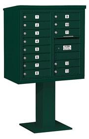 Salsbury 4C Pedestal 3408D-13 Green