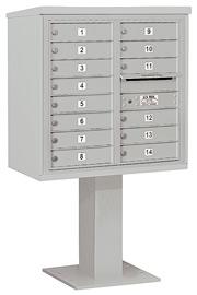 Salsbury 4C Pedestal 3408D-14 Gray