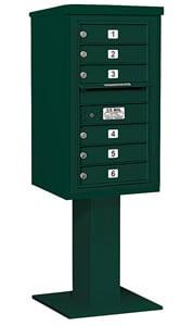 Salsbury 4C Pedestal 3408S-06 Green