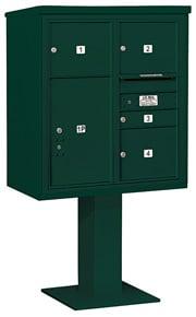 Salsbury 4C Pedestal 3409D-04 Green