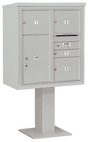 Salsbury 4C Pedestal 3409D-04 Gray