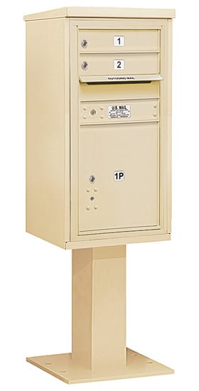 3409S02 Salsbury Commercial 4C Pedestal Mailboxes