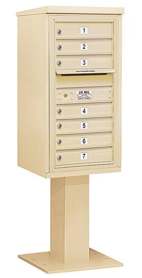 3409S-07 Salsbury 4C Pedestal Mailboxes