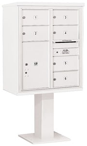 Salsbury 4C Pedestal 3410D-06 White