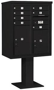 Salsbury 4C Pedestal 3410D-07 Black