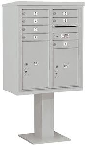 Salsbury 4C Pedestal 3410D-07 Gray