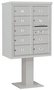 Salsbury 4C Pedestal 3410D-09 Gray