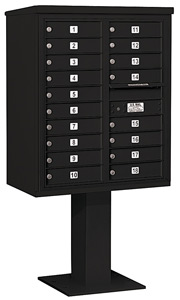 Salsbury 4C Pedestal 3410D-18 Black
