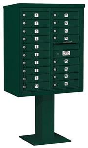 Salsbury 4C Pedestal 3410D-18 Green
