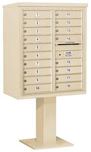 Salsbury 4C Pedestal 3410D-18 Sandstone