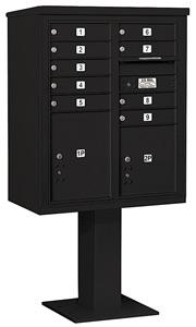 Salsbury 4C Pedestal 3410DA-09 Black