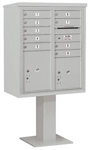 Salsbury 4C Pedestal 3410DA-09 Gray