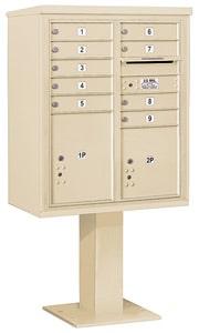 Salsbury 4C Pedestal 3410DA-09 Sandstone