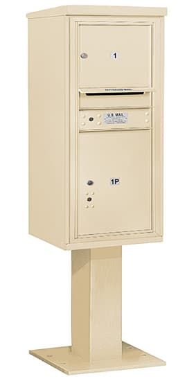 3410S01 Salsbury Commercial 4C Pedestal Mailboxes