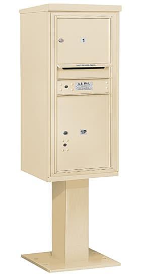 3410S-01 Salsbury 4C Pedestal Mailboxes