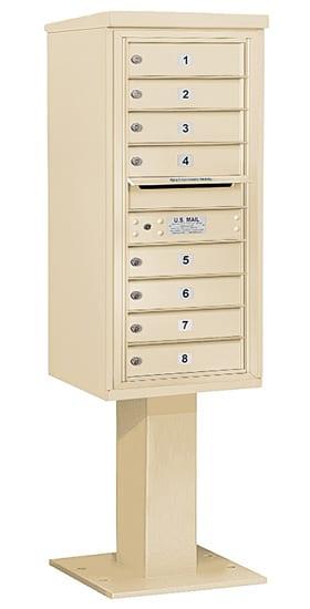 3410S-08 Salsbury 4C Pedestal Mailboxes