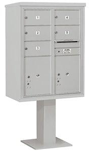 Salsbury 4C Pedestal 3411D-05 Gray