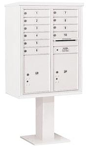 Salsbury 4C Pedestal 3411D-10 White