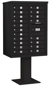 Salsbury 4C Pedestal 3411D-19 Black
