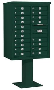 Salsbury 4C Pedestal 3411D-19 Green