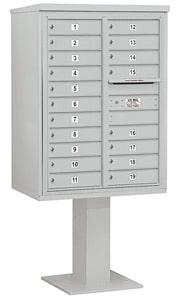 Salsbury 4C Pedestal 3411D-19 Gray