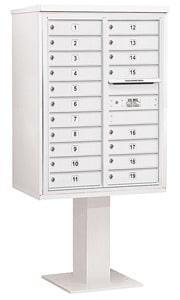 Salsbury 4C Pedestal 3411D-19 White
