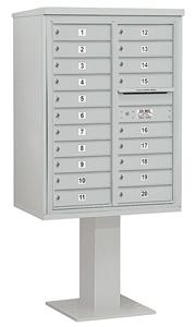 Salsbury 4C Pedestal 3411D-20 Gray