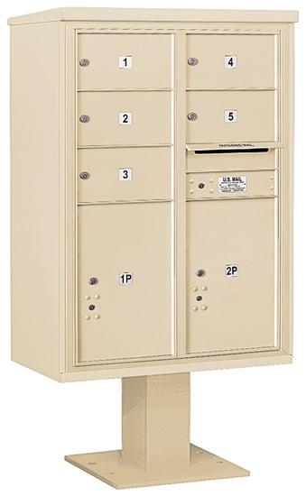 3412D05 Salsbury Commercial 4C Pedestal Mailboxes