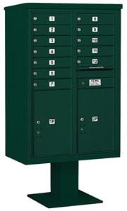 Salsbury 4C Pedestal 3413D-12 Green