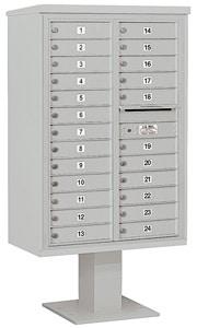 Salsbury 4C Pedestal 3413D-24 Gray