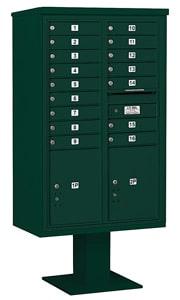 Salsbury 4C Pedestal 3414D-16 Green