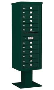 Salsbury 4C Pedestal 3414S-12 Green
