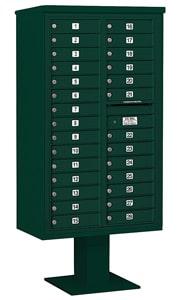 Salsbury 4C Pedestal 3415D-28 Green