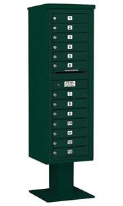 Salsbury 4C Pedestal 3415S-13 Green