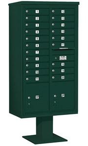 Salsbury 4C Pedestal 3416D-20 Green