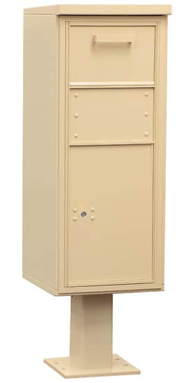 3475 Salsbury Pedestal Collection Box