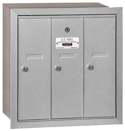 Salsbury 3 Door Vertical Mailbox 3503