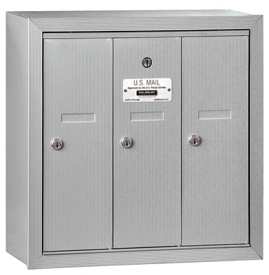 Salsbury 3 Door Surface Vertical Mailbox