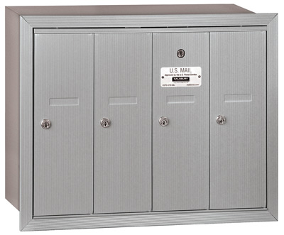 Salsbury 4 Door Vertical Mailbox 3504