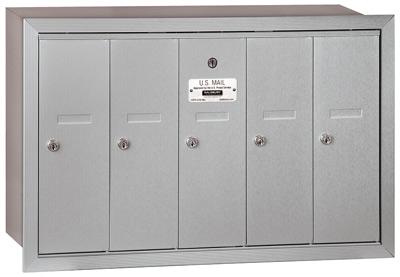 Salsbury 5 Door Vertical Mailbox 3505