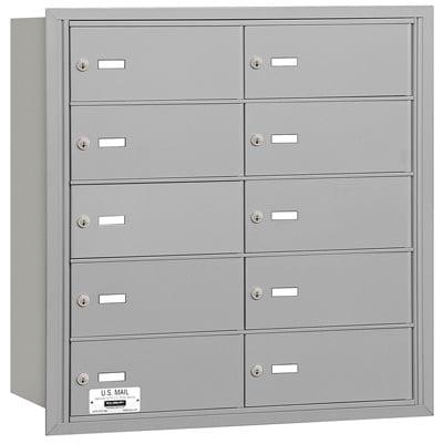 3610 Rear Loading Salsbury Horizontal Mailboxes