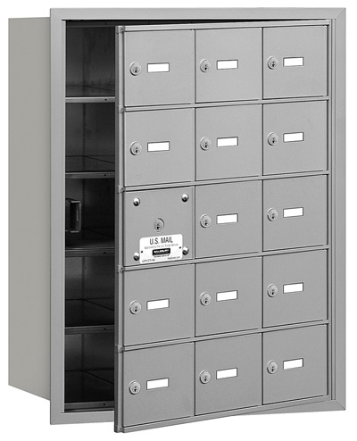15 Door Front Loading 3615 Salsbury 4B+ Horizontal Mailboxes
