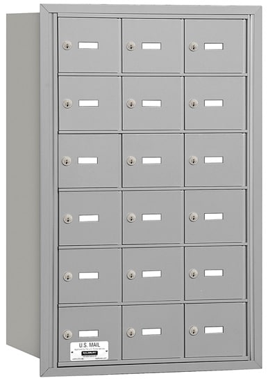 3618 Rear Loading Salsbury Horizontal Mailboxes