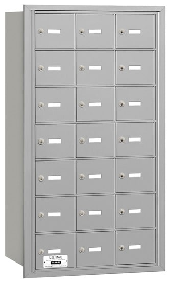 3621 Rear Loading Salsbury Horizontal Mailboxes